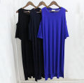 Dress Summer 2017 Black, Navy, sapphire Average size Mid length dress singleton  Short sleeve street Crew neck Loose waist Solid color Socket routine Others Type H nothing More than 95% modal  Europe and America