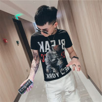 T-shirt Youth fashion White b715, black b715, yellow b715 thin S,M,L,XL,2XL Others Short sleeve Crew neck Self cultivation daily summer 2020