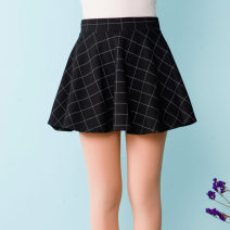 skirt Autumn 2016 Average size Large grid Short skirt Versatile Natural waist Pleated skirt lattice Type A K8509 30% and below other nylon 401g / m ^ 2 (inclusive) - 500g / m ^ 2 (inclusive)