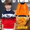 Sweater / sweater 120cm,130cm,140cm,150cm,160cm,170cm cotton male Other / other fresh There are models in the real shooting Socket thickening Crew neck Cartoon animation Class B 3, 4, 5, 6, 7
