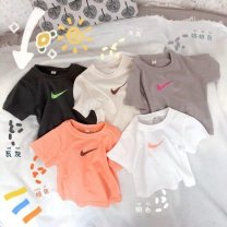T-shirt D40-q-white, a63 pink, m38-s-gray, d45-a-orange Other / other 80 15-25 Jin, 90 20-25 Jin, 100 25-35 Jin, 110 35-45 Jin, 120 45-55 Jin, 130 55-65 Jin neutral summer Short sleeve Crew neck motion There are models in the real shooting nothing cotton Cartoon animation Cotton 100% P3532 Class B