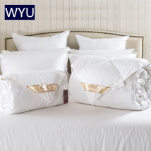 Down / duvet Down quilt 90% (including) - 95% (excluding) White Velvet Superior products Other / other 150x210cm standard single quilt 180x220cm enlarged single quilt 200x230cm standard double quilt 220x240cm enlarged double quilt cotton winter White pink light yellow Cut through Thermal storage