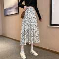 skirt Summer 2021 Average size White [skirt length 68cm], white [skirt length 74cm], black [skirt length 68cm], black [skirt length 74cm] Mid length dress Versatile High waist A-line skirt Decor Type A 18-24 years old 31% (inclusive) - 50% (inclusive) other polyester fiber