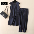 Fashion suit Spring 2021 L,XL,S,M navy blue 96% and above wool