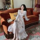 Fashion suit b0428 51% (inclusive) - 70% (inclusive) Summer 2021 18-25 years old Floral cardigan, champagne powder suspender skirt One size fits all