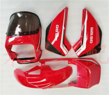 Motorcycle shell Side cover, head cover, front sand plate, tail skirt, side cover, head cover, front sand plate, tail skirt, tail lamp assembly, tail lamp shell, GS125 seat cover, front brake pad, HT, rear brake pad, front and rear brake pad, chain (rubber) BCZMT GS125