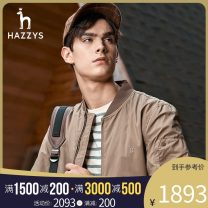 Jacket Hazzys Fashion City Deep Beige light navy deep navy 170/92A 175/96A 180/100A 185/104A 190/108A 190/112A standard Other leisure ASVZU09CU20a Polyester 49.3% others 50.7% Long sleeves Wear out tide youth Zipper placket Summer 2020 Same model in shopping mall (sold online and offline)