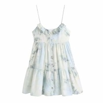 Dress Summer 2021 As shown in the figure XS,S,M,L Short skirt singleton  street camisole 18-24 years old Europe and America
