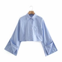 shirt As shown in the figure XS,S,M,L Spring 2021 other 81% (inclusive) - 90% (inclusive) Long sleeves street 18-24 years old Straight cylinder Europe and America