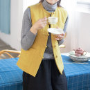 jacket Winter of 2019 M (for net waist 1.8-2.1 feet), l (for net waist 2.2-2.4 feet), XL (for net waist 2.5-2.6 feet) Yellow, grayish blue Yu Xiang cotton 51% (inclusive) - 70% (inclusive)