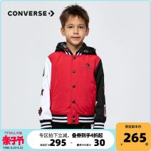 Jacket / leather Converse / converse male Tango red-a 105cm 110cm 120cm 130cm 140cm 150cm 160cm 165cm cotton leisure time spring and autumn Single breasted CV2012024PS-001 Other 100% Autumn 2020