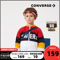 Windbreaker Converse / converse male spring and autumn leisure time The cap is not detachable Zipper shirt have cash less than that is registered in the accounts Polyester 100% polyester 92121RS187 Summer 2020 Four, five, six, seven, eight, nine, ten, eleven, twelve, thirteen, fourteen College Huang
