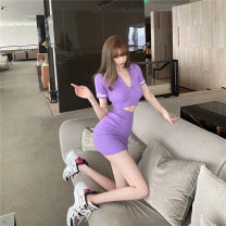 Fashion suit Summer 2020 S,M,L Purple, pink, blue 18-25 years old 96% and above