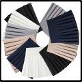 skirt Summer 2017 S. L, XL, 2XL, 3XL, 4XL, m), 110 (30-40 kg recommended), 120 (40-50 kg recommended), 130 (50-60 kg recommended), 140 (60-72 kg recommended) Short skirt Versatile High waist Pleated skirt Solid color Type A 91% (inclusive) - 95% (inclusive) Shan Qi AI Yi nylon Elastic waist skirt