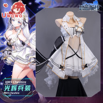 Cosplay women's wear suit Pre sale Over 14 years old game L,M,S You Wo Wo Blue line Balance