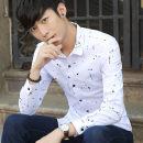 shirt Youth fashion Zunyi Chaonan 165=M,170=L,175=XL,180=2XL,185=3XL,190=4XL White, red, blue, gold 0843 gray, gold 0843 blue, gold 0843 white, gold 0835 dark blue, gold 0835 white, gold 0835 light blue, xy921 blue, xy921 white, xy921 gray, xy601 blue, xy601 gray, xy601 white routine Long sleeves