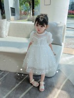 Dress White, pink female Other / other 80cm,90cm,100cm,110cm,120cm,130cm,140cm Other 100% spring and autumn Korean version Solid color other A-line skirt 18 months, 2 years old, 3 years old, 4 years old, 5 years old, 6 years old, 7 years old, 8 years old, 9 years old Chinese Mainland Shenzhen City