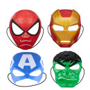 Mask Hasbro / Hasbro 1801 iron man, 1802 Captain America, 1803 Hulk, 1804 Spiderman, Spiderman movie miles special effects mask e2919510 Halloween The villain is funny currency nothing A0440