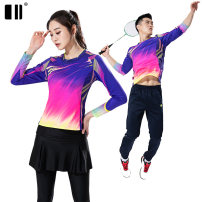 Badminton wear female S M L XL XXL XXXL Odd and even numbers Football suit Winter of 2019 yes