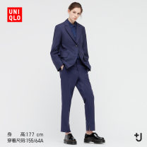 Casual pants 09 black 68 dark blue 69 Navy 150/56A 150/58A 155/62A 155/64A 160/66A 160/70A 165/74A 170/76A Spring 2021 trousers Straight pants Natural waist UQ438114000 UNIQLO / UNIQLO Wool 90% Cashmere (cashmere) 10% Same model in shopping mall (sold online and offline)