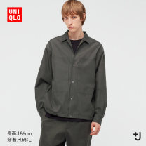 shirt other UNIQLO / UNIQLO 160/76A/XS 165/84A/S 170/92A/M 175/100A/L 180/108B/XL 185/112C/XXL 09 black 30 light beige 56 olive routine other Long sleeves standard Other leisure spring UQ440372000 Cotton 100% 2021 Spring 2021 Same model in shopping mall (sold online and offline)