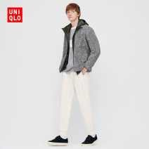 Casual pants UNIQLO / UNIQLO other 02 light grey 03 grey 09 black 67 Navy 69 Navy 160/64A/XS 165/72A/S 170/80A/M 175/88A/L 180/96B/XL 185/104C/XXL 185/112C/XXXL 185/120C/XXXXL trousers Other leisure Straight cylinder UQ429162000 autumn Cotton 90% polyester 10% Autumn 2020