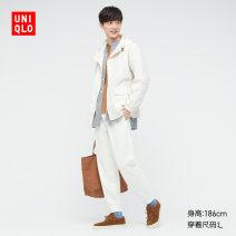 Casual pants UNIQLO / UNIQLO other 02 light grey 03 grey 09 black 69 Navy 160/85/XS 165/90/S 170/95/M 175/100/L 180/105/XL 185/110/XXL 185/115/XXXL 185/120/XXXXL Ninth pants Other leisure Straight cylinder UQ438174000 Cotton 90% polyester 10% Spring 2021