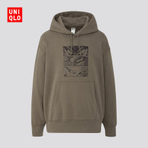 Sweater other UNIQLO / UNIQLO 56 olive 160/76A/XS 165/84A/S 170/92A/M 175/100A/L 180/108B/XL 185/112C/XXL 185/120C/XXXL 185/128C/XXXXL other Socket spring Cotton 76% polyester 24% Spring 2020 Same model in shopping mall (sold online and offline)