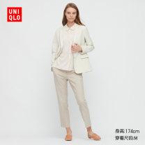 short coat Spring 2021 150/76A/XS 155/80A/S 160/84A/M 160/88A/L 165/92A/XL 170/100B/XXL 175/108C/XXXL 01 cream 09 black UNIQLO / UNIQLO 51% (inclusive) - 70% (inclusive) UQ433644000 polyester fiber Polyester 65% viscose 31% polyurethane elastic 4% Same model in shopping mall (sold online and offline)