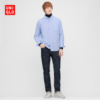 shirt other UNIQLO / UNIQLO 160/76A/XS 165/84A/S 170/92A/M 175/100A/L 180/108B/XL 185/112C/XXL 185/120C/XXXL 185/128C/XXXXL routine other Long sleeves standard Other leisure Cotton 100% Autumn 2020 Same model in shopping mall (sold online and offline)