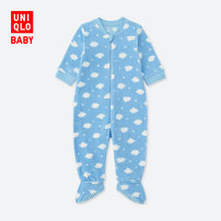 Jumpsuit / climbing suit / Khaki UNIQLO / UNIQLO Class A neutral 61 Aqua Blue six hundred and seven thousand and eighty other Polyester 100% UQ400378000 Uniqlo Winter 2017