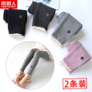 trousers NGGGN female 100cm 110cm 120cm 130cm 140cm winter trousers leisure time There are models in the real shooting Leggings Leather belt middle-waisted Cotton blended fabric Don't open the crotch Cotton 97.4% polyurethane elastic fiber (spandex) 2.6% Spring 2020