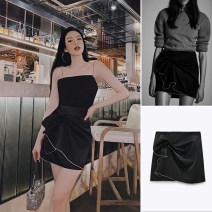 skirt Autumn 2020 XS,S,M,L Diamond skirt TRAF