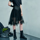 skirt Summer 2021 S M L XL Shadow Black Shadow Black second batch Middle-skirt commute Natural waist other other Type A 25-29 years old 21X6358Q More than 95% other The sun is shining cotton zipper Simplicity Cotton 100% Pure e-commerce (online only)