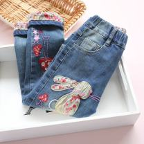 trousers Other / other neutral spring and autumn trousers Korean version There are models in the real shooting Jeans middle-waisted other Don't open the crotch Other 100% K116 Class B Four, five, six, seven, eight, nine