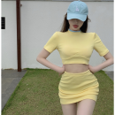Fashion suit Summer 2021 Average size 18-25 years old Four point eight 81% (inclusive) - 90% (inclusive) polyester fiber