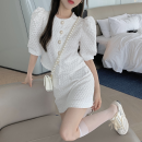 Fashion suit Summer 2021 S,M,L White top, black top, white skirt, black skirt 18-25 years old Four point two 96% and above