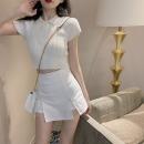 Fashion suit Summer 2021 S. M, l, average size Black skirt, white skirt, white T-shirt, black T-shirt 18-25 years old Four point eight 31% (inclusive) - 50% (inclusive)