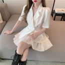 Fashion suit Summer 2021 S, M White suit, black suit, white skirt, black skirt 18-25 years old four point one three 31% (inclusive) - 50% (inclusive)