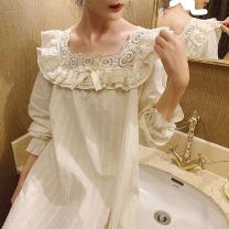 Nightdress pinkgoddess Blue, Cream Beige S,M,L,XL Campanula skirt