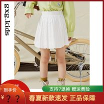 skirt 110/53,120/56,130/59,140/55,150/58 White, white a, white B, black, black a, black B gxg kids female Cotton 100% spring and autumn skirt other 12C236002A other