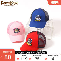 Hat 00L 00M 0XL Blue / 50 Pink / 25 red / 20 00M 0XL neutral peaked cap paw in paw PCACAS181S Spring 2020 Chinese Mainland