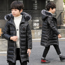 Cotton padded jacket male No detachable cap other Modern new human Black army green brown 120cm 130cm 140cm 150cm 160cm 170cm routine Zipper shirt leisure time There are models in the real shooting other other Class C other Other 100% Cotton liner D7149-5 Winter of 2018 winter
