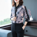 Lace / Chiffon Spring 2021 Picture color S,M,L,XL,2XL Long sleeves Original design Cardigan singleton  Self cultivation Regular Polo collar Decor raglan sleeve 30-34 years old A05 bow 51% (inclusive) - 70% (inclusive) polyester fiber
