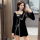 Fashion suit Autumn 2020 S,M,L,XL,XXL black 18-25 years old 9160 ᦇ the spot does not fade