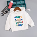 T-shirt Xiaoyifeng 80cm,90cm,95cm,100cm,110cm neutral spring and autumn Long sleeves Crew neck leisure time No model No detachable cap cotton Cartoon animation Cotton 95% other 5% Class A Sweat absorption 6 months, 12 months, 9 months, 18 months, 2 years, 3 years, 4 years Chinese Mainland