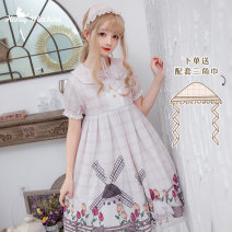 Lolita / soft girl / dress Sweetheart vending machine Light green (for triangle towel), pink (for triangle towel) S,M,L No season goods in stock Lolita