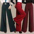 Casual pants 31 (2-4), 32 (2-5), 28 (2-1), 29 (2-2), 30 (2-3), 33 (2-6), 34 (2-7), 27 (2-waist) Spring 2021 trousers Wide leg pants High waist commute routine Other / other Ol style Three dimensional cutting