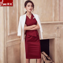 Professional dress suit S,M,L,XL,XXL,XXXL Summer of 2018 three quarter sleeve A965+Q251 Other styles, coats, shirts Suit skirt 25-35 years old J-ME 96% and above polyester fiber