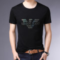 T-shirt Youth fashion routine 165/M,170/L,175/XL,180/XXL,185/XXXL,190/4XL Youmulang Short sleeve Crew neck Self cultivation daily summer youth routine tide other Solid color Embroidery 3D effect washing International brands